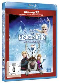 Die Eiskönigin 2D + 3D Blu-ray @Amazon Marketplace, 11,97€