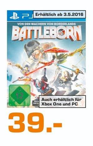 [Lokal Saturnmärkte Bremen] Battleborn für PS4 und XB1 für je 39,-€