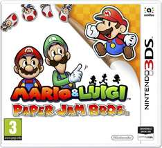 Mario & Luigi: Paper Jam Bros. (3DS) für 23,31€ von Amazon IT