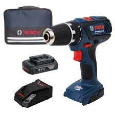 [Werkzeugstore24] Bosch GSR-18-2-LI Plus Professional mit 1,5Ah Akku, Stoffbox