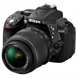 [Lokal Saturn Karlsruhe] Nikon D5300 Kit 18-55 mm Nikon VR II schwarz