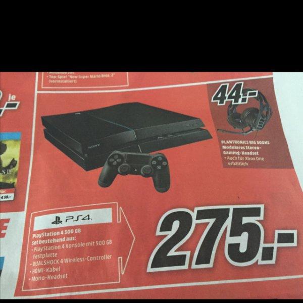 PS4 275,- MediaMarkt Göttingen