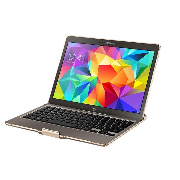 [NBB] Samsung Galaxy Tab S 10.5 bronze LTE Tablet + Tastatur, Super AMOLED Display, Octa-Core, 3GB RAM, 16GB Flash,
