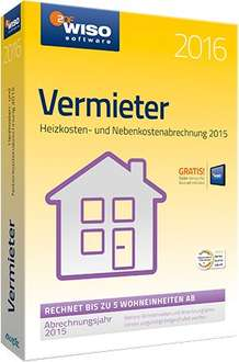 Buhl Data WISO Vermieter 2016 CD-Version 19,98€ inkl. Versand @ notebooksbilliger