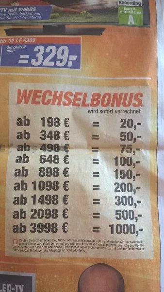 Expert (Halle/Bruckdorf) Wechselbonus 10-25%