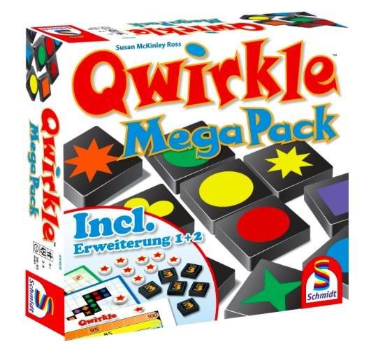 [Amazon Prime] Schmidt Spiele - Legespiel, Qwirkle Mega Pack für 10€ statt ca. 20€