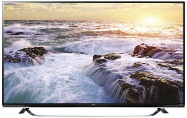 """LG 49UF850V für 749€ - 49"""" UHD TV mit 3D, WLAN, Triple-Tuner und DVB-T2"""