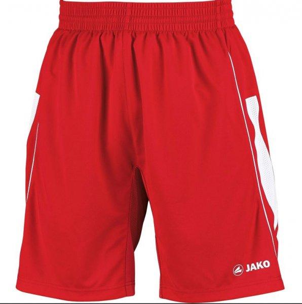 JAKO Herren Sporthose Challenge rot-weiß