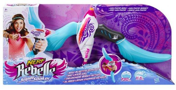 [Amazon Prime]  Hasbro Nerf Rebelle Super Soaker Dolphina Bow für 9,59€ statt ca. 15€
