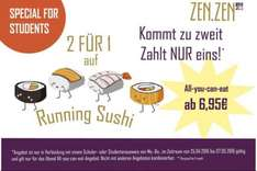 RUNNING SUSHI • All-you-can-eat • Nur STUDENTEN [Aachen]