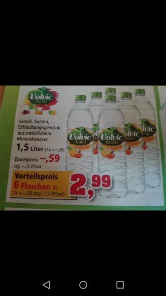 Thomas Philipps Volvic Touch 6x1.5l für 2.99€ + Pfand