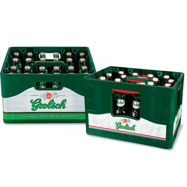 [GRENZGÄNGER NL] PLUS - 1 Kiste Grolsch für 8,99 €