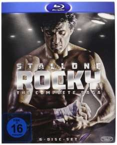 (Amazon.it) 3x Rocky - Complete Saga [6x Blu-ray] für 29,03€