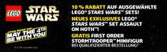 Lego: May the 4th be with you - 10%/Gratis SW-Figur/Exklusiv-Set