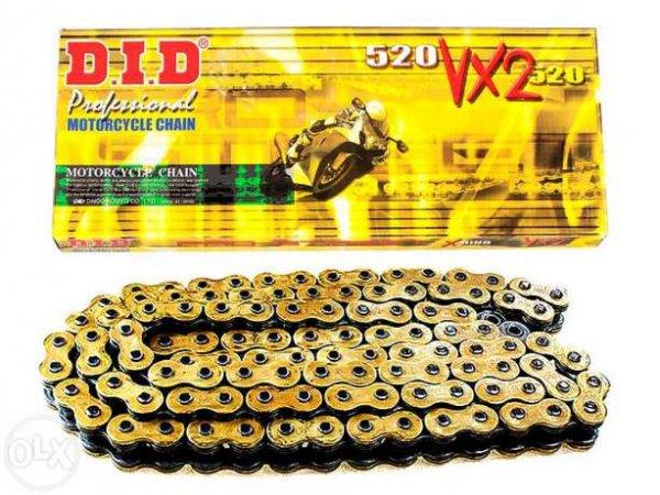 Motorradkette DID 520 VX2 Amazon Prime 14,14 Euro