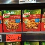Kaufland Sindelfingen Calwer Strasse Knorr fix Ofen Makkaroni alla mama