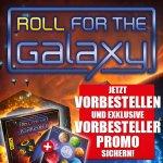 [Spiele-Offensive] Roll for the Galaxy Deutsch inkl. Vorbesteller Promo | Brettspiel | Gesellschaftsspiel