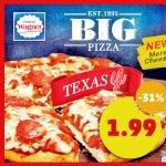 41 WAGNER BIG PIZZA statt Normalpreis 118,49€ für nur 66,59€ + 20€-Einkaufsgutschein bekommen [Penny]