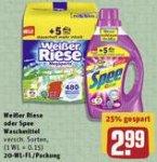 [Rewe, KW19] 3x Spee oder Weißer Riese Waschmittel –50% [Angebot + Coupon] => 0,10€/WL +10fach Payback Punkte