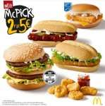 [McDonalds] 2 für 5€ Aktion McPick (ab 12.5.)