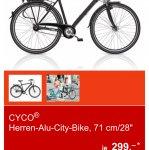 (Lokal Duisburg) Aldi Cyco Alu City Bike oder Trekkingrad
