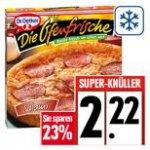 Dr. Oetker  Die Ofenfrische bei Edeka 2,22 € - 50 Cent Coupon = 1,72€
