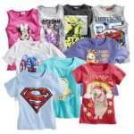 Real offline: Superstars Kinder-T-Shirts/Tops für 5,-€ (Star Wars, Minions, Sorgenfresser, Disney etc)