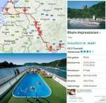 Flusskreuzfahrt ab Frankfurt 4 Nächte 99€pP 3er-Kabine, 149€ Einzel; 1Wo 199/249€