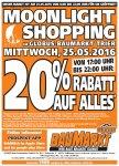 [Trier] Globus Baumarkt Moonlight-Shopping 20% auf alles am 25.05. (MI) 17 - 22 Uhr