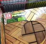 (Lokal) Kaufland Dossenheim Akazien Holzfliesen 10 Stück für 9,99€