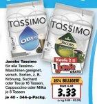 [Vorankündigung Kaufland Super Weekend vom 02-06 bis 04-06] Jacobs Tassimo T-Discs alle verfügbaren Sorten für je 3,33€ pro Packung