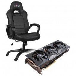 Sapphire Radeon R9 Fury Nitro inkl. Nitro C80 Pure Gaming Stuhl für 485,89€