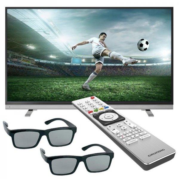 Ebay - Grundig 55VLX8582  1000Hz(PPR) 3D Ultra-HD 4K LED Smart TV Fernseher DVB-T/C/S2 Triple-Tuner