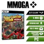 RollerCoaster Tycoon World - PC STEAM Key