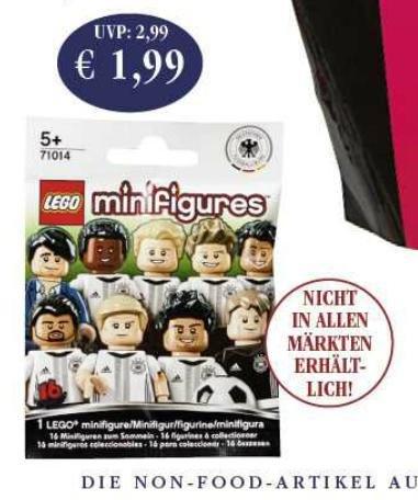 [Sky Coop Supermärkte] Lego DFB - Die Mannschaft - Tüte für 1,99 - lokal