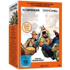 Müller (online): Bud Spencer/Terence Hill 20 DVD Monsterbox für 29,99€