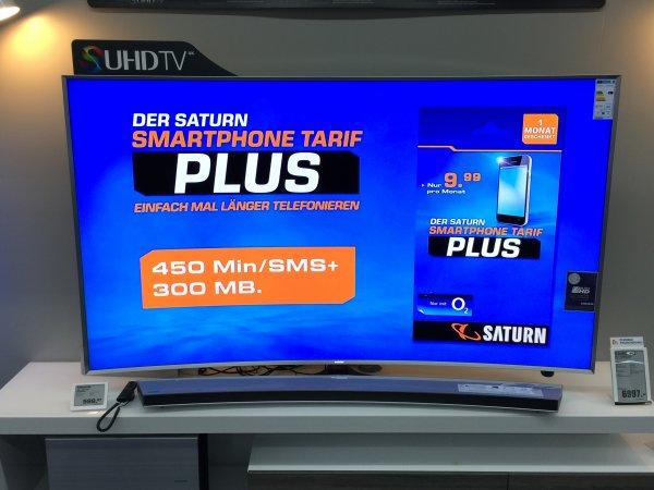 Samsung UE 78 JS 9590 QXZG  UHD LCD TV 78 Zoll SATURN ESSLINGEN