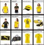 """[BVB Shop] PUMA Sale, z.B. """"09"""" T-Shirt 10€ statt 25€ oder Sneaker 39€ statt 59€"""