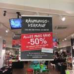 50% auf alles bei Buttlers in der Mall of Berlin