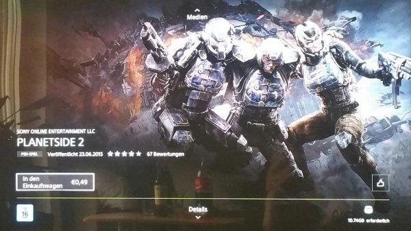 Planetside 2 (PS4)