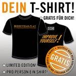 Gratis T-Shirt von bodycult.at