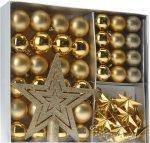 [ amazon ] Plus Produkt ] Weihnachtskugeln Set 45-teilig inklusive Baumspitze Im Fensterkarton für 2,58€ statt 10€