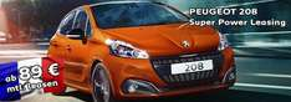 Peugeot 208 Privatkundenleasing 89€/Monat - 24Monate Laufzeit bei 10tkm/Monat EDIT: Händlerunabhängig