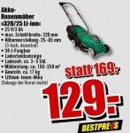 Güde Akku Rasenmäher 320/25 Li-Ion 25,2V/3Ah [B1 Discount Baumarkt, bundesweit, offline] für 129,- €