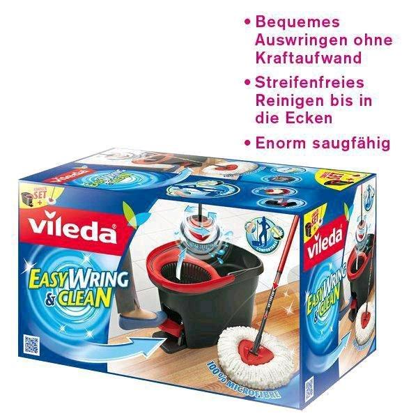Vileda Easy Wring and Clean Wischmop-Set