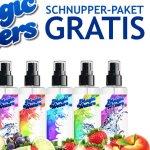 Gratis Schnupperpaket Staubsauger Parfum www.magic-waters.de ABGELAUFEN