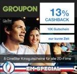 [Cinestar] 5x Kino für 25€ über Groupon mit Qipu EM Special noch günstiger