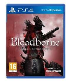[amazon.co.uk] Bloodborne: Game of the Year Edition [PS4] für 34,01€ inkl. Versand