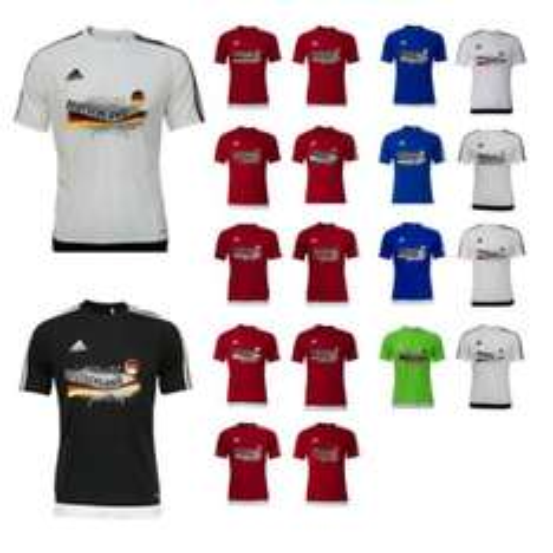 Ebay - adidas Kinder und Erwachsenen EM 2016 T-Shirt - verschiedene Länder