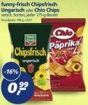 real,-: funny-frisch Chipsfrisch oder Chio Chips (jeweils 175gr.) für 0,99 Euro / 6mal Pepsi (je 1,5L) plus 1 Tüte Layx27s Chips für zusammen 3,49 Euro.